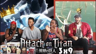 ALL HAIL QUEEN HISTORIA! Attack on Titan 3x9 REACTION/REVIEW