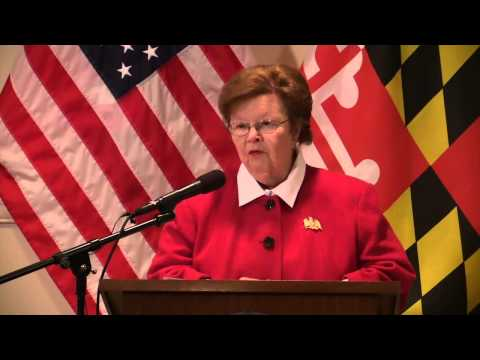 Mikulski Announces 5th Term Will be her Last, Will Focus on Working for her Constituents