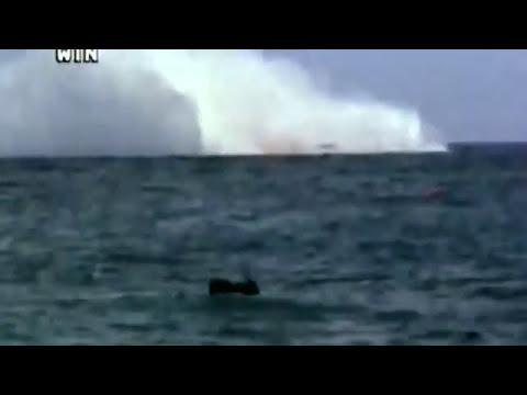 Hijacked Plane Crashes