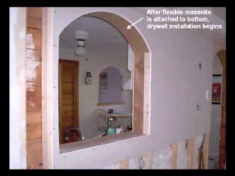 How To Build Interior Arches Revised Youtube