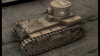 World of Tanks T1 CUNNINGHAM (США) Танк 1 Уровня (PS4)