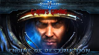 G-Man's Gaming - StarCraft 2: Wings of Liberty - Engine of Destruction