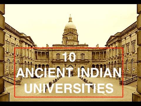 TOP 10 ANCIENT INDIAN UNIVERSITIES