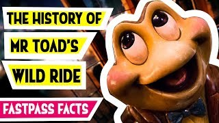 The History and Facts of Mr Toad's Wild Ride at Disneyland and Walt Disney World