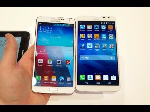 Ascend Mate2 4G vs Galaxy Note 3