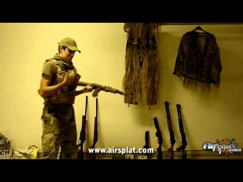 AirSplat Free Xbox Modern Warfare 2 Airsoft Guns Giveaway Winner Video
