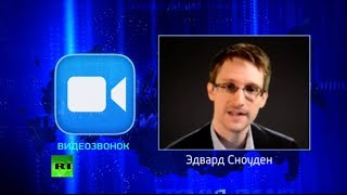 Snowden asks Putin LIVE: Does Russia intercept or store comms?