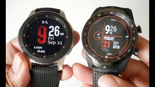 Samsung Galaxy Watch vs Ticwatch Pro - Head to Head Comparison