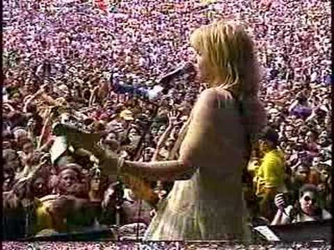 Courtney Love 1995 Doll Parts + ? + stage dive