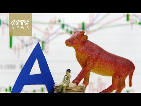 China's mainland stocks close mixed amid gov't rescue efforts