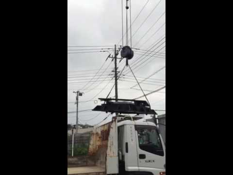 how to using truck crane