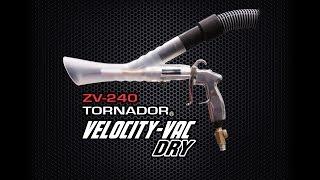 ZV-240 TORNADOR VELOCITY-VAC DRY demos at SEMA 2015