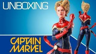 Đồ chơi siêu nhân | mô hình lắp ráp Captain Marvel 1/10 | Những điều bạn chưa biết về Captain Marvel