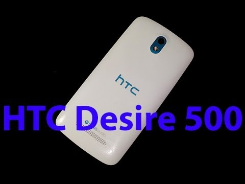 HTC Desire 500 hands on review [Greek]