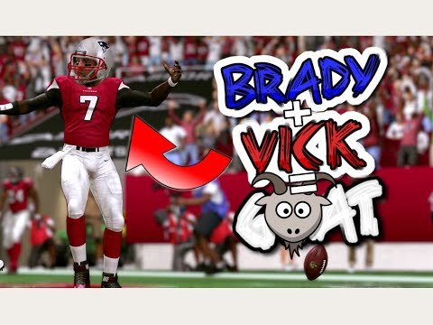 What if TOM BRADY AND MICHAEL VICK MORPHED INTO ONE PLAYER!? Madden 17 Challenge