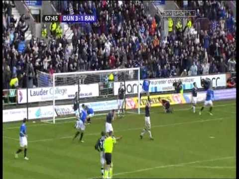 Kris Boyd 2nd Goal vs Dunfermline Scottish Cup 7th January 2007