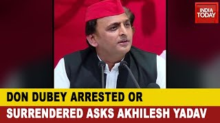 Gangster Vikas Dubey Arrested: Akhilesh Yadav Demanded Kanpur Don's Phone Records To Be Made Public