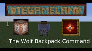 The Wolf Backpack Mini Only One Command