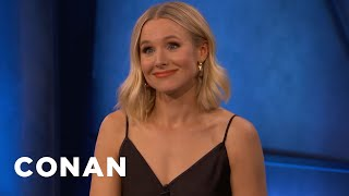 Kristen Bell: Dax Shepard Is My Best Wingman - CONAN on TBS