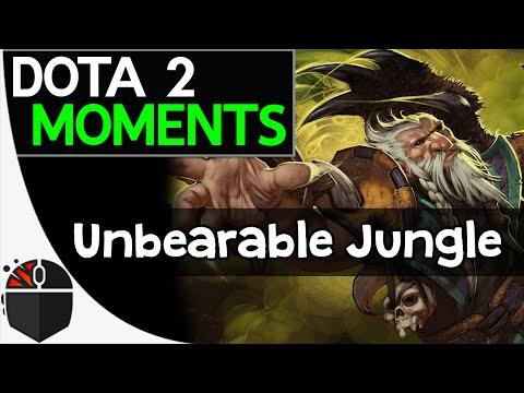 Dota 2 Moments  Unbearable Jungle