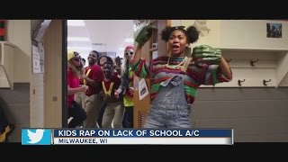 Milwaukee students perform 'Fresh Prince' parody to get air conditioning