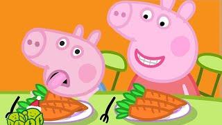 Peppa Pig Full Episodes | Vegetables for George 🎄Peppa Pig Christmas