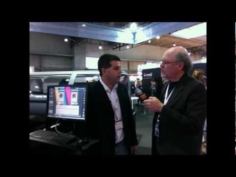 Scott Fresener Interviews Kornit at FespaFabric Barcelona