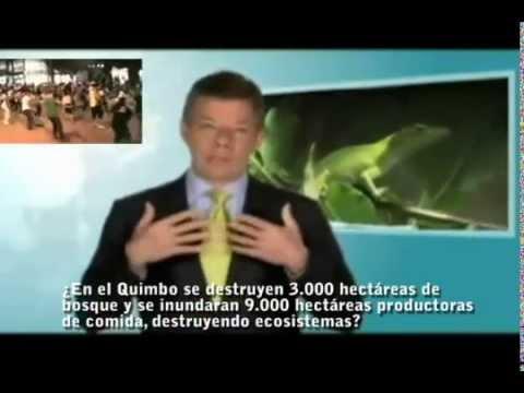 Las Mentiras del presidente Juan Manuel Santos