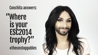 #ConchitaAnswers #14: Where is your ESC2014 Trophy?
