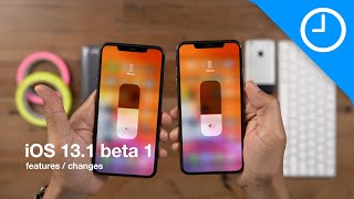 New iOS 13.1 BETA 1 features / changes!