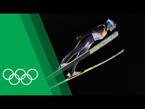 Carina Vogt on becoming the first female Olympic Ski Jumping champion