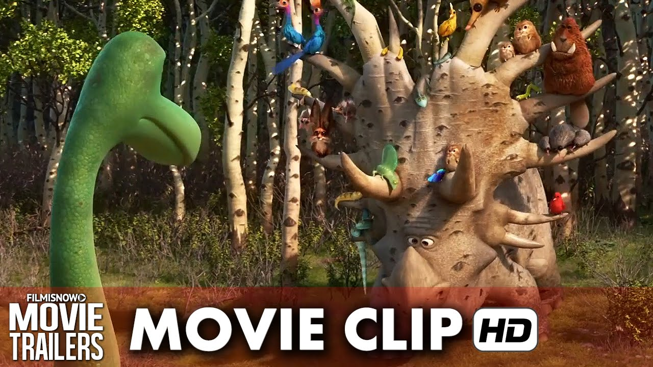 "The Good Dinosaur Movie Clip ""I Name Him I Keep Him"" (2015) HD"