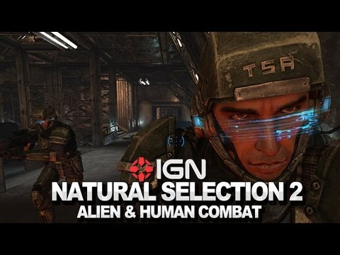 Natural Selection 2 - Alien and Human Combat - IGN Commentary