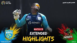 Extended Highlights | Saint Lucia Kings vs St Kitts and Nevis Patriots | CPL 2021