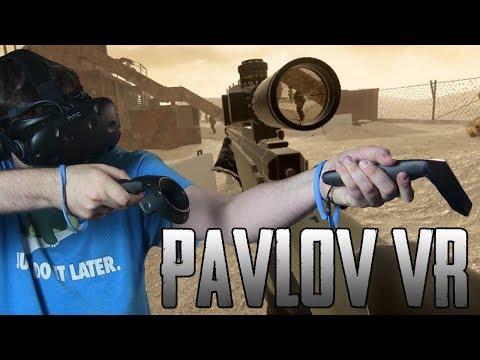 CS:GO na VR?! - Pavlov VR (HTC VIVE VR)