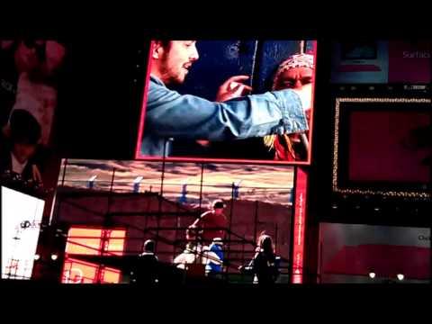 Peru in Times Squares