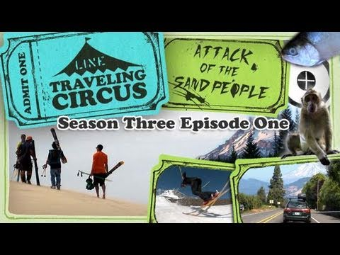 LINE Traveling Circus 3.1 Attack of the Sand People