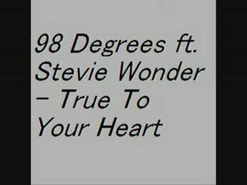 Stevie Wonder - 98 Degrees ft. Stevie Wonder - True to Your Heart