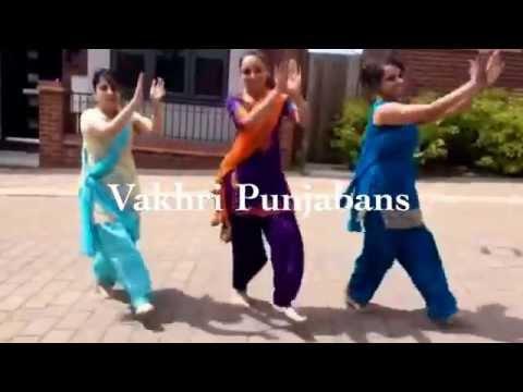 Vakhri Punjabans practicing to Phulkari by Kaur B!