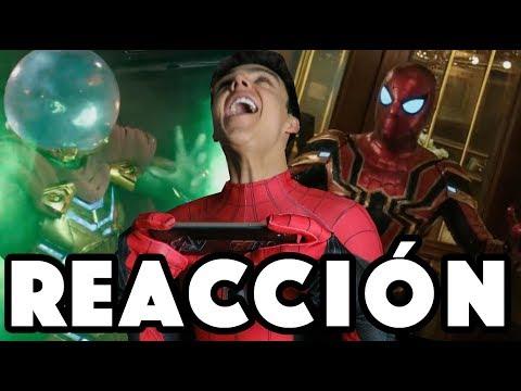 REACCIÓN NUEVO TRAILER SPIDERMAN FAR FROM HOME / NAVY