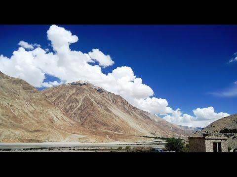 Srinagar to Leh  By Road  - Kashmir Ladakh  Tourism video