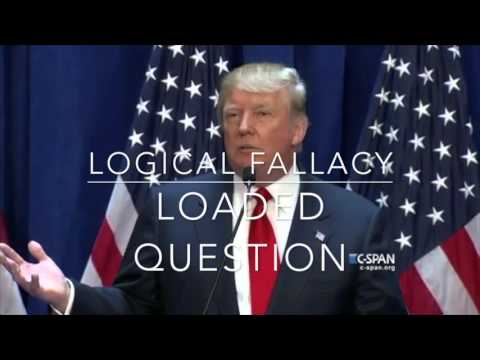 Analyzing Trump: 15 Logical Fallacies in 3 Minutes