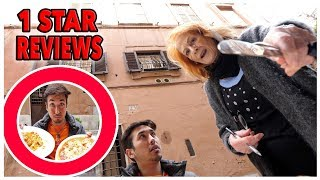 Eating At The WORST Reviewed Italian Restaurant In Italy *THREATENED BY OWNER* (1 STAR)