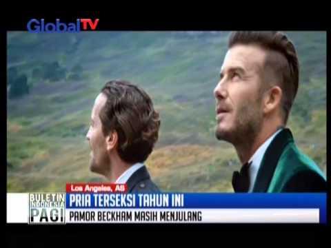 Wow! David Beckham Dinobatkan Sebagai Pria Terseksi 2015 - BIP 20/11