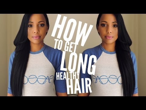 My Tips For Healthy Hair Growth