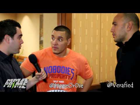 WMMA Husbands: UFC Fighter's Pat HD Barry and Brandon Vera Epic Interview Image 1