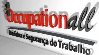 Logo 3D da empresa Occupationall - AMCorp