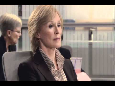 Patty's PISSED OFF!- Glenn Close-Damages