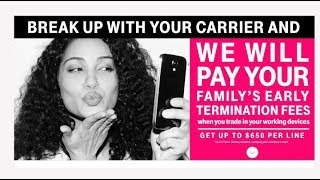 T-Mobile Will Now Pay For Your Cancellation Fees