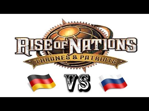 Rise of Nations Thrones and Patriots: Germany VS Russia (Skirmish)
